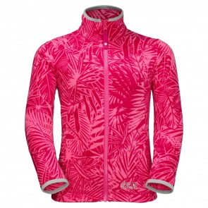 Jack Wolfskin Jungle Fleece Girls hot pink all over-20