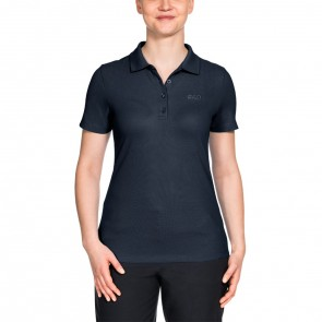 Jack Wolfskin Pique Polo Women midnight blue-20