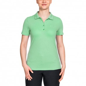 Jack Wolfskin Pique Polo Women spring green-20