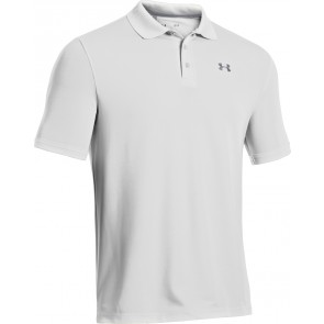 Under Armour UA Performance Polo White/Steel-20