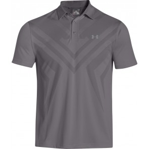 Under Armour UA ArmourVent Tips Polo Graphite/Steel-20
