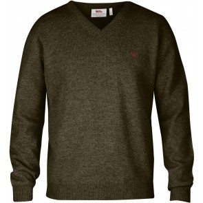 FjallRaven Shepparton Sweater Dark Olive-20