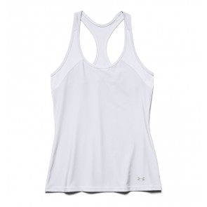 Under Armour Women's HeatGear Armour Tank White (100)-20