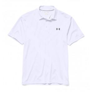 Under Armour HeatGear ArmourVent Tips Men's Golf Polo White (100)-20