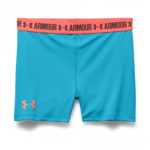 "Under Armour UA HeatGear Armour – 3"" Girls' Shorts Rocket Red (987)-20"
