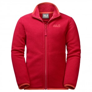 Jack Wolfskin B Arctic Wolf Fleece ruby red-20