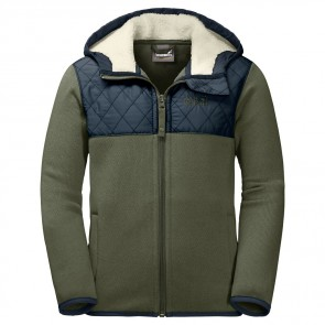 Jack Wolfskin K Navajo Mountain Fleece woodland green-20