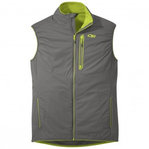 Outdoor Research OR Men's Ascendant Vest pewter/lemongrass-20
