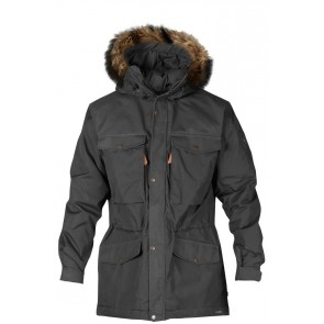 FjallRaven Sarek Winter Jacket Dark Grey-20