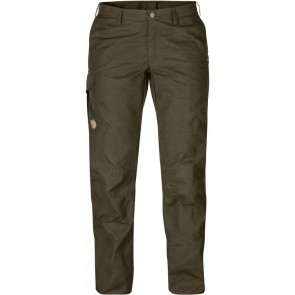 FjallRaven Karla Pro Trousers Curved Dark Olive-20