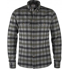 FjallRaven Skog Shirt Black-20