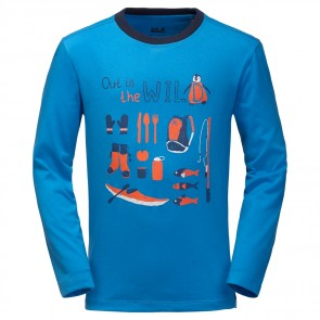 Jack Wolfskin Out In The Wild Longsleeve brilliant blue-20