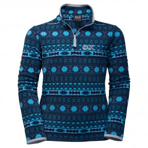 Jack Wolfskin Ice Crystal Pullover Kids light sky allover-20