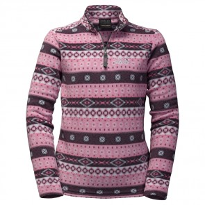Jack Wolfskin Ice Crystal Pullover Women rosebud all over-20
