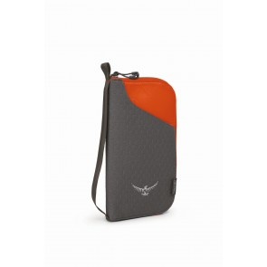 Osprey Document Zip Wallet Poppy Orange-20