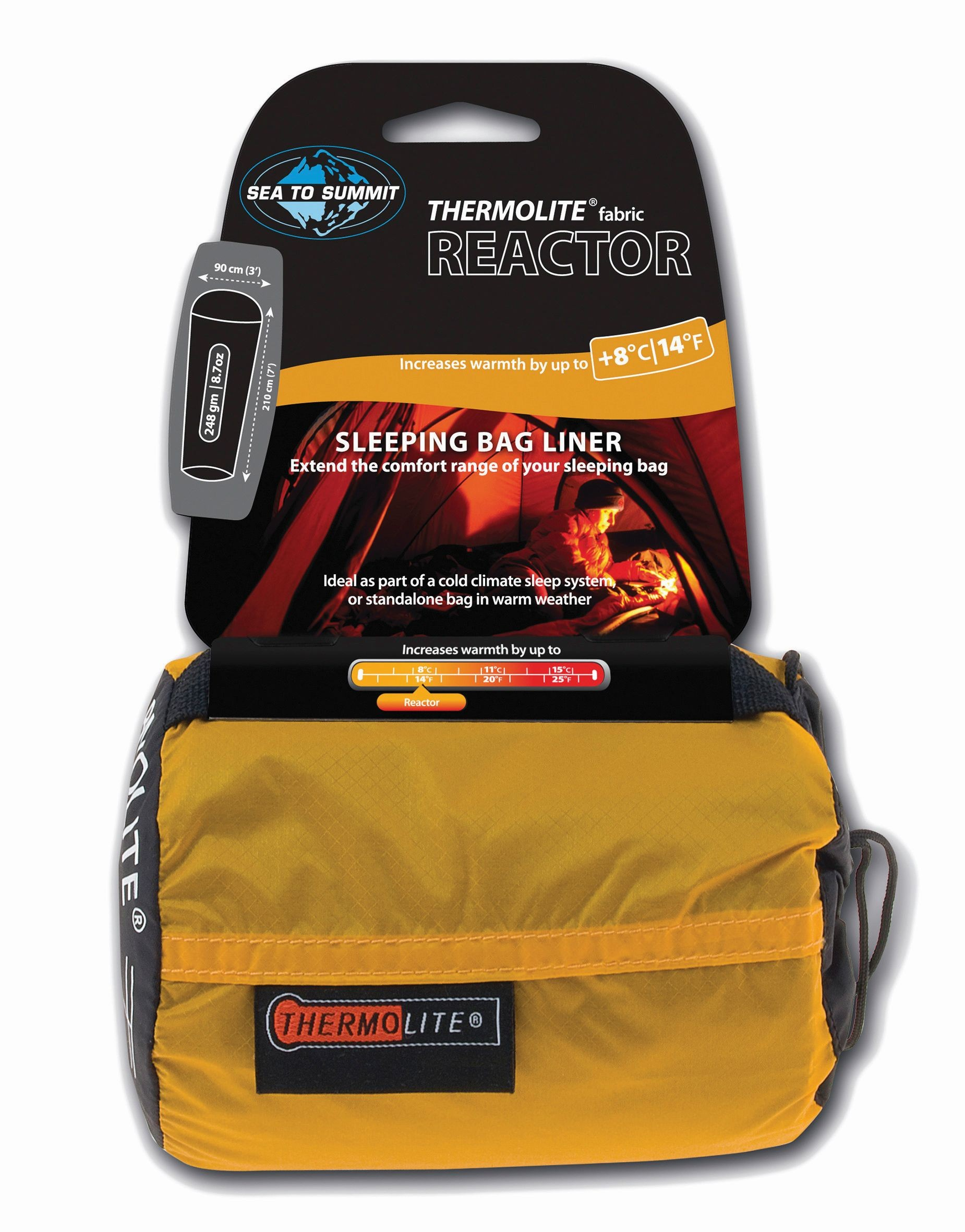 Sea To Summit Reactor - Thermolite® Mummy Liner