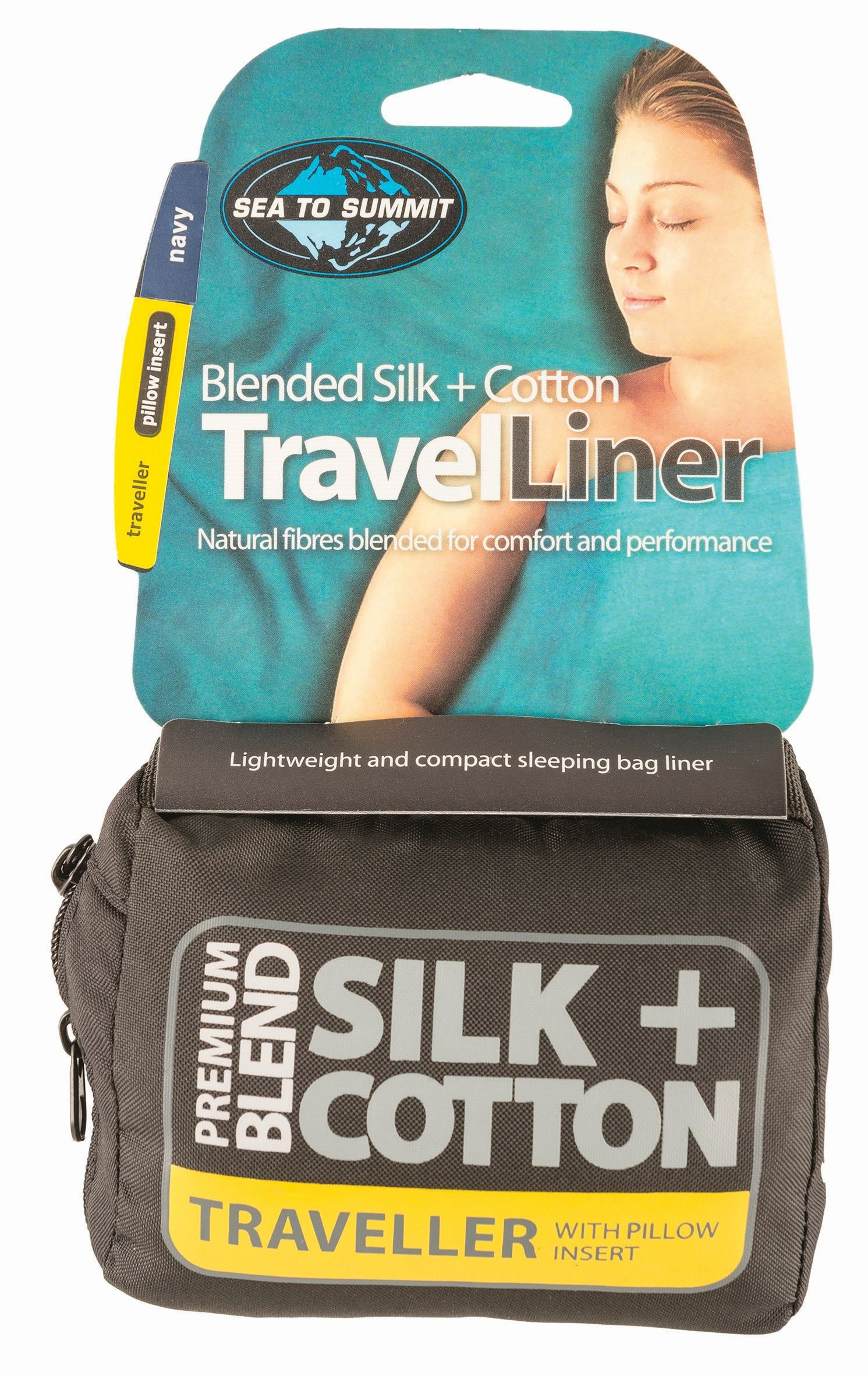 Sea To Summit Silk/Cotton Travel Liner Traveller (with Pillow Slip)