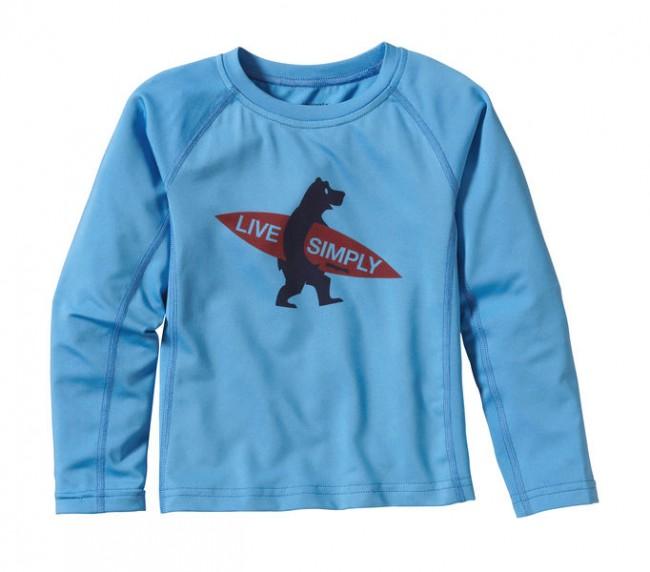 Patagonia Baby Capilene 1 Silkweight Crew Skipper Blue