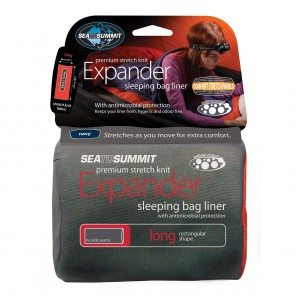 Sea To Summit Expander Liner Long Navy Blue-20