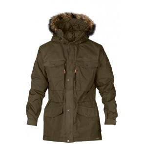 FjallRaven Sarek Winter Jacket Dark Olive-20