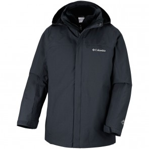 Columbia Men's Mission Air Interchange Jacket Black, Black-20