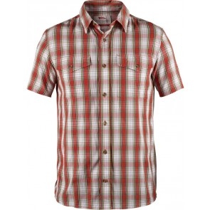 FjallRaven Abisko Cool Shirt SS Flame Orange-20
