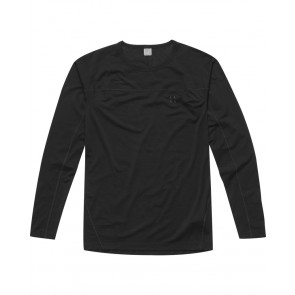 Haglofs Actives Merino II Roundneck Men True Black-20