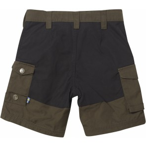 FjallRaven Kids Vidda Shorts Dark Olive-20