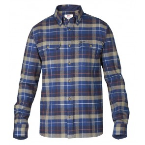 FjallRaven Sarek Heavy Flannel Shirt Navy-20