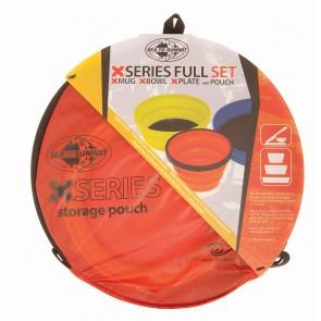 Sea To Summit X Set 3-Piece (X-Mug,X Bowl, X Plate & Storage Pouch)-20