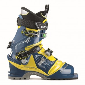 Scarpa T2 Eco Trueblue/Acidgreen-20