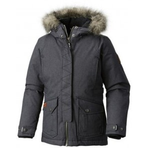 Columbia Barlow Pass 600 Turbodown Jacket Black Melange-20