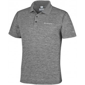Columbia Zero Rules Polo Shirt Shark Heather-20