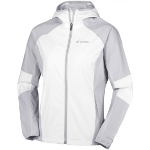 Columbia Sweet As Softshell Hoodie White, Cirrus Grey-20