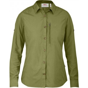 FjallRaven Abisko Hike Shirt LS W Meadow Green-20