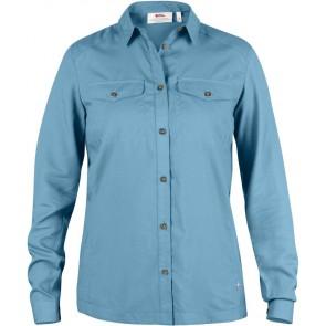 FjallRaven Abisko Vent Shirt LS W. Bluebird-20