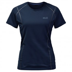 Jack Wolfskin Hollow Range T-Shirt Women night blue-20