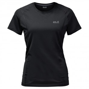 Jack Wolfskin Hollow Range T-Shirt Women black-20