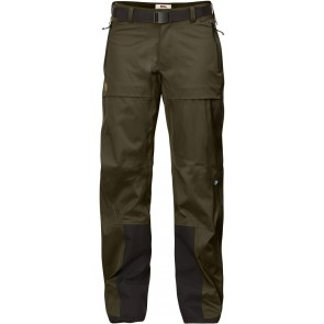 FjallRaven Keb Eco-Shell Trousers W Dark Olive-20
