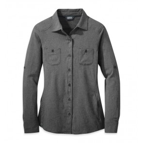 Outdoor Research Women's Reflection L/S Shirt charcoal-20