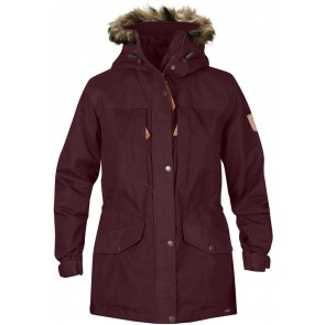 FjallRaven Singi Winter Jacket W. Dark Garnet-20
