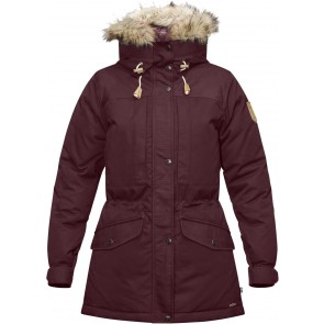 FjallRaven Singi Down Jacket W Dark Garnet-20