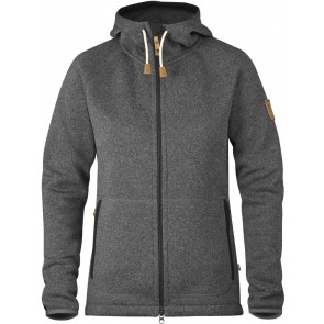 FjallRaven Övik Fleece Hoodie W Dark Grey-20