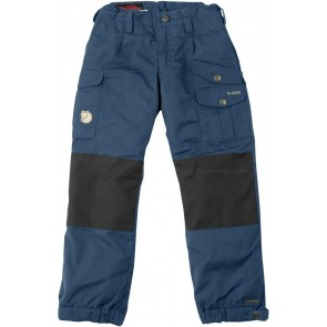 FjallRaven Kid's Vidda Padded Trousers Uncle Blue-20