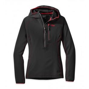 Outdoor Research Women's Whirlwind Hoody Jacket black/charcoal-20