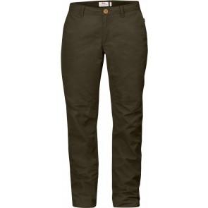 FjallRaven Sormland Tapered Trousers W Dark Olive-20