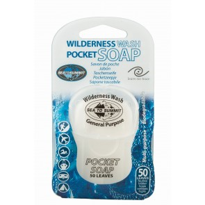 Sea To Summit Wilderness Wash Pocket Soap 50 Leaf-20