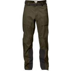 FjallRaven Keb Eco-Shell Trousers Dark Olive-20
