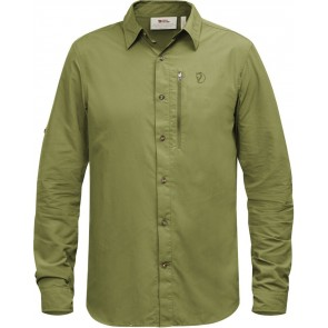 FjallRaven Abisko Hike Shirt LS Meadow Green-20