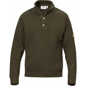 FjallRaven Varmland T-neck Sweater Dark Olive-20
